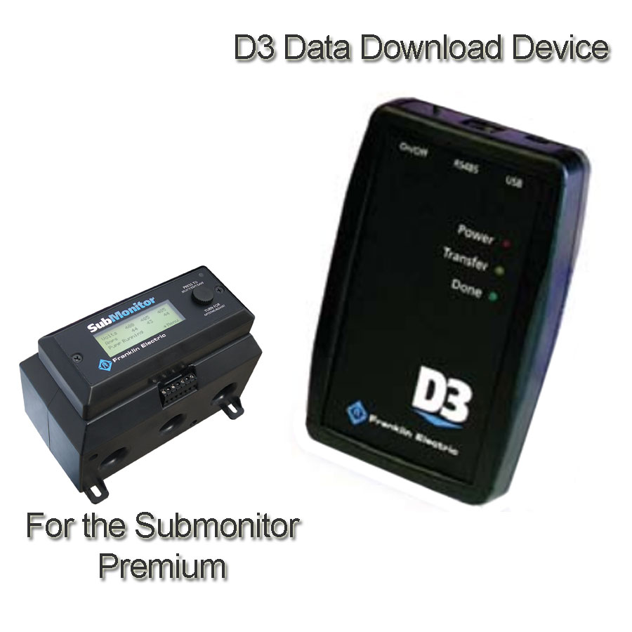 Franklin Electric D3 Data Download Device Strongman Pumps